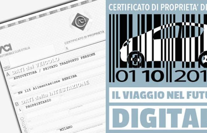 certificato di proprieta digitale