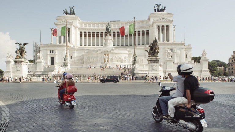 ciclomotore - passeggero